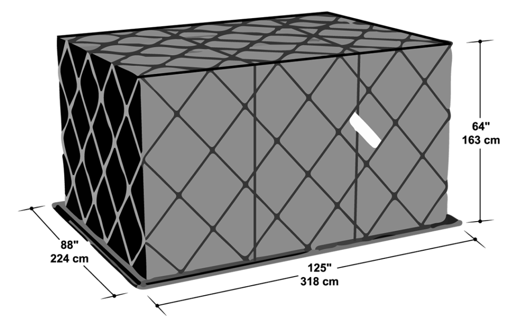 P1P PAG Pallet shipping container
