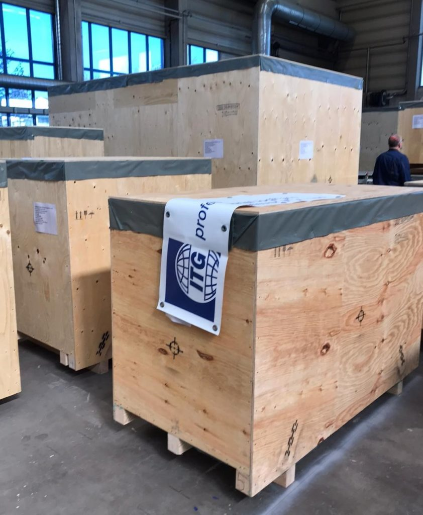 Dimerco's ITG team in Germany suggested optimized cargo packing at the shipper's warehouse